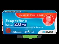 IBUPROFENE MYLAN 200 mg, comprimé enrobé à MULHOUSE