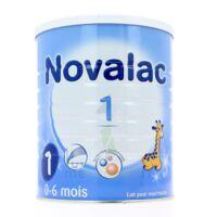 NOVALAC 1 Lait en poudre 1er âge B/800g à MULHOUSE
