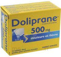 DOLIPRANE 500 mg Poudre pour solution buvable en sachet-dose B/12 à MULHOUSE