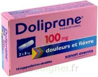 DOLIPRANE 100 mg Suppositoires sécables 2Plq/5 (10) à MULHOUSE