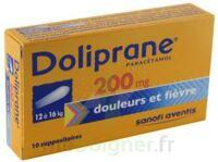 DOLIPRANE 200 mg Suppositoires 2Plq/5 (10) à MULHOUSE