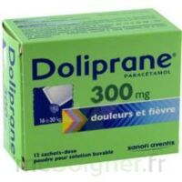 DOLIPRANE 300 mg Poudre pour solution buvable en sachet-dose B/12 à MULHOUSE