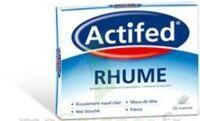 ACTIFED RHUME, comprimé à MULHOUSE