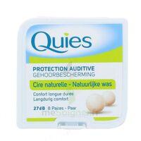 QUIES PROTECTION AUDITIVE CIRE NATURELLE 8 PAIRES à MULHOUSE