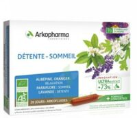 Arkofluide Bio Ultraextract Solution buvable détente sommeil 20 Ampoules/10ml à MULHOUSE