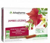 Arkofluide Bio Ultraextract Solution buvable jambes légères 20 Ampoules/10ml à MULHOUSE