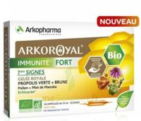 Arkoroyal Immunité Fort Solution buvable 20 Ampoules/10ml à MULHOUSE