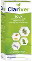 Clariver Solution buvable Toux sèche et productive adulte Fl/175ml à MULHOUSE