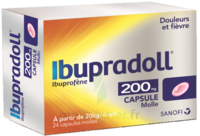 IBUPRADOLL 200 mg, capsule molle à MULHOUSE
