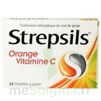 STREPSILS ORANGE VITAMINE C, pastille à MULHOUSE