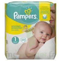 PAMPERS NEW BABY PREMIUM PROTECTION, taille 1, 2 kg à 5 kg, sac 22 à MULHOUSE