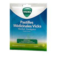 PASTILLES MEDICINALES VICKS Past à sucer menthol eucalyptus Sach/30 à MULHOUSE