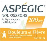 ASPEGIC NOURRISSONS 100 mg, poudre pour solution buvable en sachet-dose à MULHOUSE