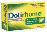 DOLIRHUME PARACETAMOL ET PSEUDOEPHEDRINE 500 mg/30 mg, comprimé à MULHOUSE