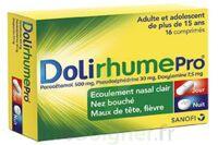 DOLIRHUMEPRO PARACETAMOL, PSEUDOEPHEDRINE ET DOXYLAMINE, comprimé à MULHOUSE