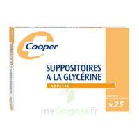 SUPPOSITOIRES A LA GLYCERINE COOPER Suppos en récipient multidose adulte Sach/25 à MULHOUSE