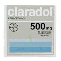 CLARADOL 500 mg, comprimé effervescent sécable à MULHOUSE