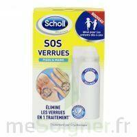Scholl SOS Verrues traitement pieds et mains à MULHOUSE