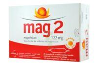 MAG 2 122 mg S buv en ampoule sans sucre édulcoré à la saccharine sodique 30Amp/10ml à MULHOUSE