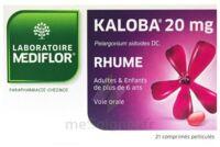 KALOBA 20 mg Comprimé pelliculé Plq/21 à MULHOUSE