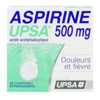 ASPIRINE UPSA 500 mg, comprimé effervescent à MULHOUSE