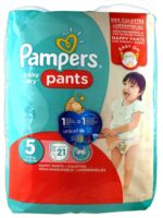 Pampers Baby Dry Pants T5 - 12-18kg à MULHOUSE