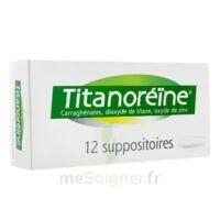 TITANOREINE Suppositoires B/12 à MULHOUSE