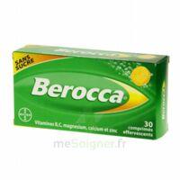 Berocca Comprimés effervescents sans sucre T/30 à MULHOUSE