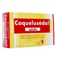 COQUELUSEDAL ADULTES, suppositoire à MULHOUSE