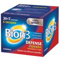 Bion 3 Défense Junior Comprimés à croquer framboise B/30+7 à MULHOUSE