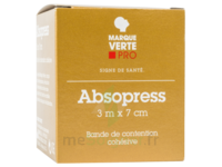 ABSOPRESS Bande contention cohésive 3m x 7cm – blanc à MULHOUSE