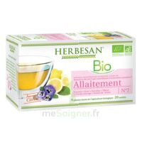 Herbesan Infusion Bio Tisane allaitement 20 Sachets à MULHOUSE