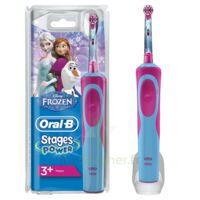 Oral B Kids Stages Power Brosse dents électrique Reine des Neiges à MULHOUSE
