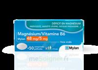 MAGNESIUM/VITAMINE B6 MYLAN 48 mg/5 mg, comprimé pelliculé à MULHOUSE